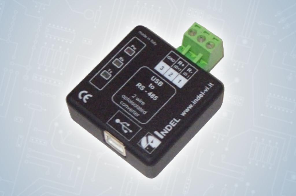 03-ADATTATORE USB-RS485 OPTOISOLATO